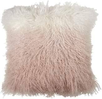 Michael Aram Dip Dye Sheepskin Accent Pillow