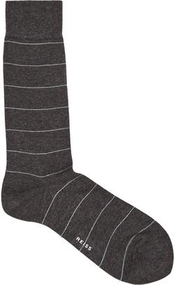 Reiss Aggers Striped Socks