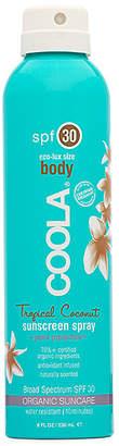 Coola Eco-Lux Body SPF 30 Tropical Coconut Sunscreen Spray.