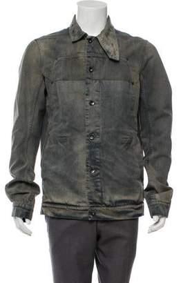 Rick Owens Denim Lab Jacket w/ Tags