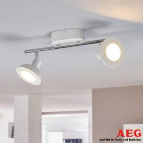 LED-Spot Titania in Weiß von AEG, 2fl.