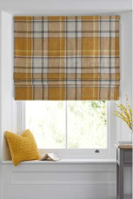 Next Marlow Woven Check Roman Blind
