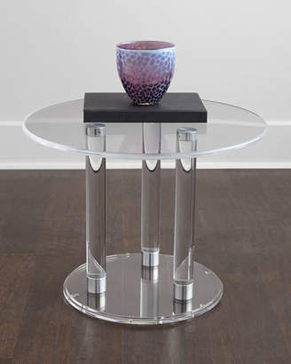 Anthony Acrylic Side Table