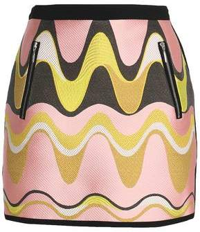 Emilio Pucci Jacquard Mini Skirt