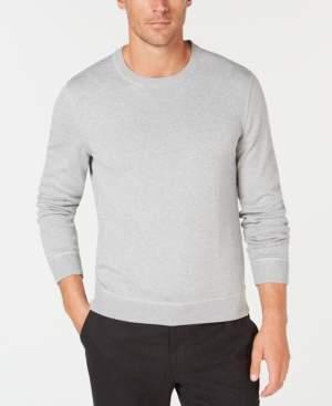 Tasso Elba Men's Lux Crew-Neck Sweater, Created for Macy's