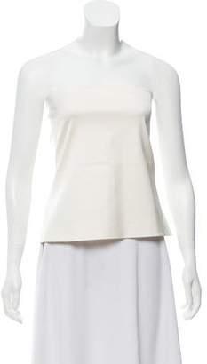Calvin Klein Collection Silk Crop Top