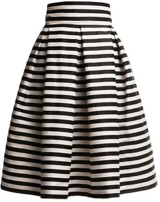 Amalfi by Rangoni Rumour London Striped Midi Skirt