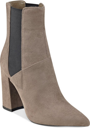 GUESS Women's Breki Pointed-Toe Booties $129 thestylecure.com