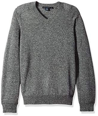 French Connection Men's Lambswool Elbow Patch Sweater
