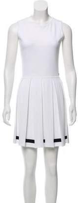 Chanel 2017 Pleated Dress