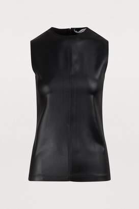 Givenchy Sleeveless asymmetric top
