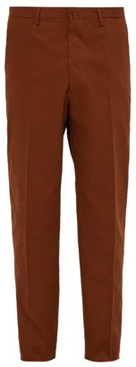 Holiday Boileau Ivy Cotton Suit Trousers - Mens - Brown