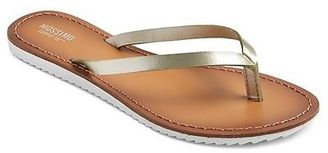 Women's Olivia Flip Flop Sandals - Mossimo Supply Co. $14.99 thestylecure.com