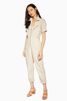 Topshop Short Sleeve Boiler Suit