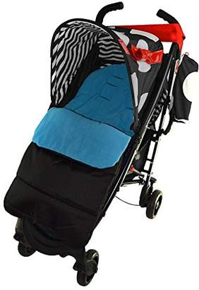Koochi Footmuff/Cosy Toes Compatible with Sneaker Pushchair Ocean Blue