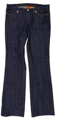 Tory Burch Classic Mid-Rise Jeans