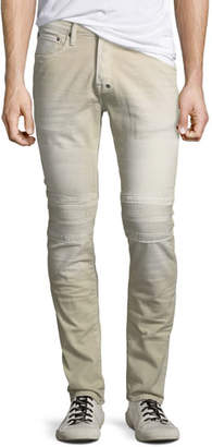 PRPS Cotton Twill Moto Pants