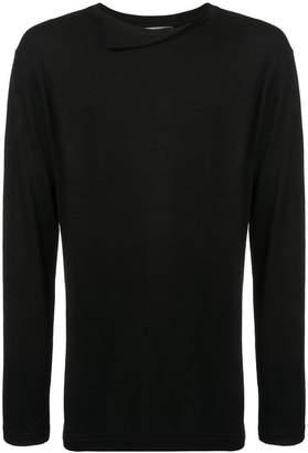 Yohji Yamamoto turnover collar sweater