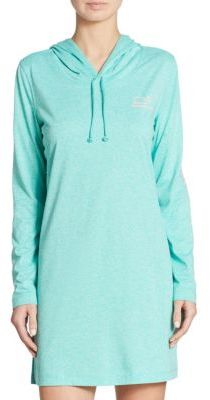Vineyard Vines Heather Whale Hooded Coverup $108 thestylecure.com