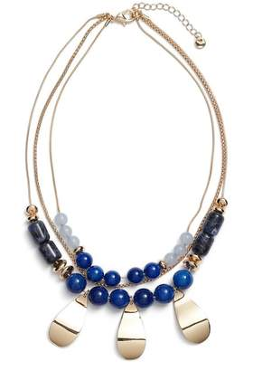Halogen Layered Statement Necklace