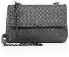 Bottega Veneta Olimpia Baby Intrecciato Leather Crossbody Bag