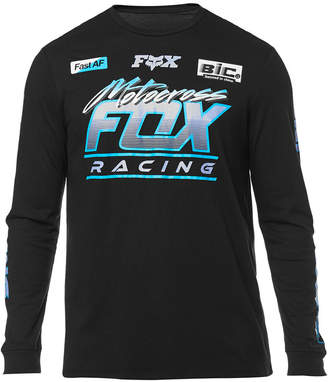 Fox Men's Long-Sleeve Jetskee Graphic Mesh T-Shirt