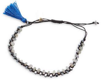 Isabel Marant Beaded Tassel Rope Bracelet