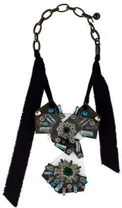 Lanvin Crystal Statement Necklace