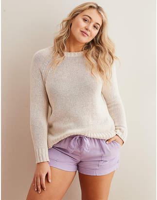 aerie Heathered Crew Sweater