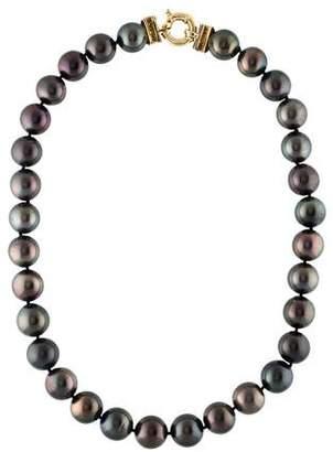 18K Pearl & Diamond Strand Necklace