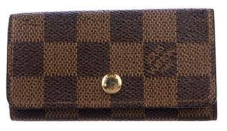 Louis Vuitton Damier Ebene 4 Key Holder