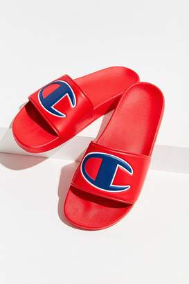 Champion Big C Logo Slide Sandal