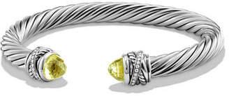 David Yurman 7mm Diamond Crossover Bracelet