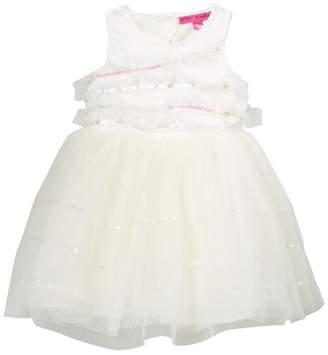 Betsey Johnson Sequin Ruffle Dress (Little Girls)