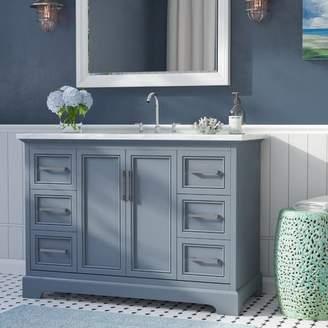 "Beachcrest Home Ravenworth 48"" Single Bathroom Vanity Set Base"