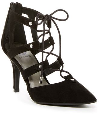 G by GUESS Krona Lace-Up Pump $59 thestylecure.com