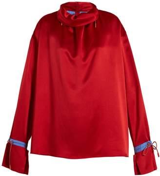 Roksanda Archer silk-satin blouse