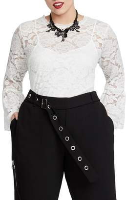Rachel Roy RACHEL  Vivian Lace Top