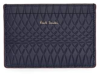 Paul Smith Embossed Leather Card Case