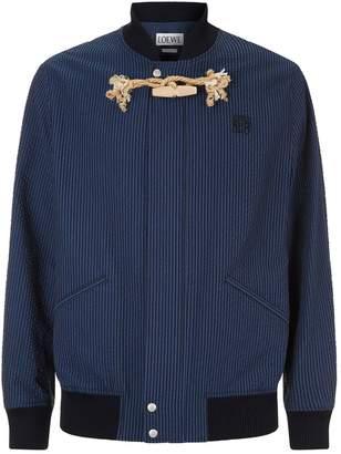 Loewe Toggle Stripe Bomber Jacket