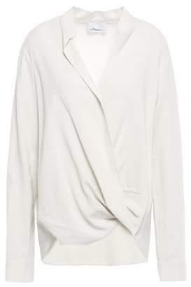 3.1 Phillip Lim Wrap-effect Crepe Shirt