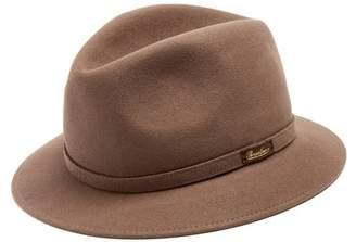 Borsalino - Alessandria Narrow Brim Felt Hat - Mens - Light Brown