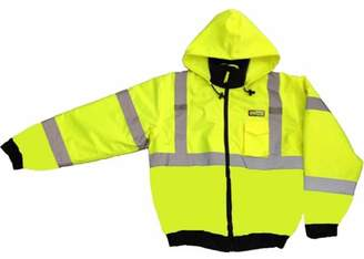 Cordova J221 Lime Reptyle Quilted Bomber Jacket