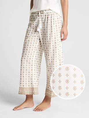 Gap Dreamwell Print Drawstring Pants