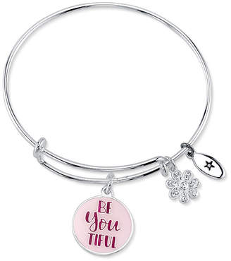 "Unwritten Be Youtiful, Be Your Own Kind of Beautiful"" Bangle Bracelet"
