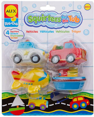 Alex Transportation Bath Squirters Tub Toy Set