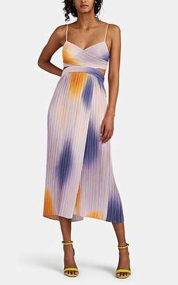 A.L.C. Women's Sienna Gradient Plissé Dress