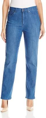Gloria Vanderbilt Women's Amanda Stretch Denim Straight Leg Jean
