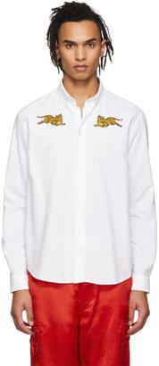 Kenzo White Jumping Tiger Shirt