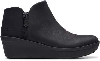 Clarks Cloudsteppers By Step Rose Up Wedge Bootie